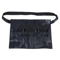 PVC Professionelle Kosmetik Make Up Pinsel Schürze Tasche Künstler Gurtband Halter-in Fahrradreparaturwerkzeuge aus Sport und Unterhaltung bei