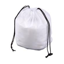 Vogvigo 4 Sizes Drawstring Clothes Storage Bag Cartoon Animal Transparent Matte Dust-proof Travel Organizer Pouch