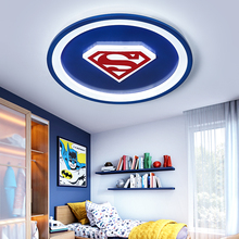 Modern led chandeliers light cartoon round pink blue lights for children room bedroom kids boys girls baby home chandelier lamp