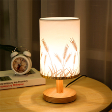 Modern Wood LED Table Light Bedroom Bedside Table Lamp Reading Study Desk Lamp Living Room Restaurant Desk Light Lighting стоимость