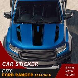Gratis Verzending Cool Hood Bonnet Sticker Motorkap Grafische Vinyl Sticker Voor Ford Ranger 2015 2016 2017 2018 2019