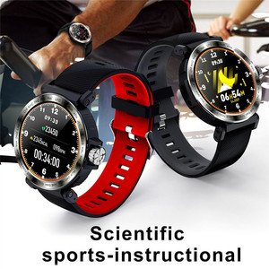 Image 4 - S18 Full Screen Touch Smart Watch IP68 waterproof Men Sports Clock Heart Rate Monitor Smartwatch for IOS Android phone