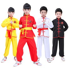 Oriental Clothing Chinese Hanfu Tai Chi Kung Fu Suit Martial Arts Costume Competition Clothes for Children Boys Girls