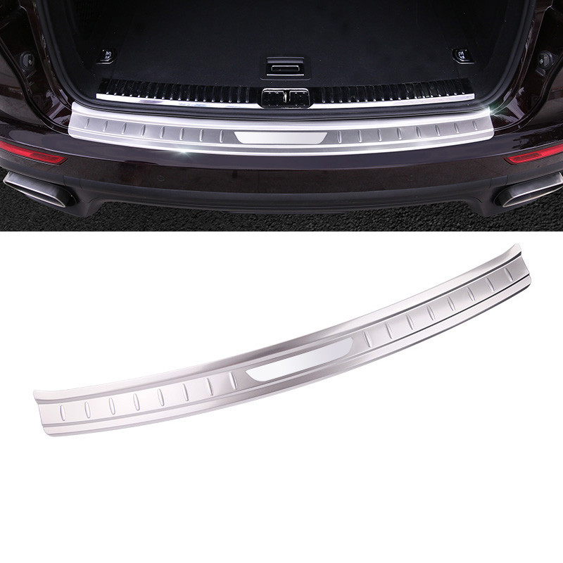 Steel Matt Side Body Door Bottom Cover Trim 6pcs  For Porsche Cayenne 2011-2016