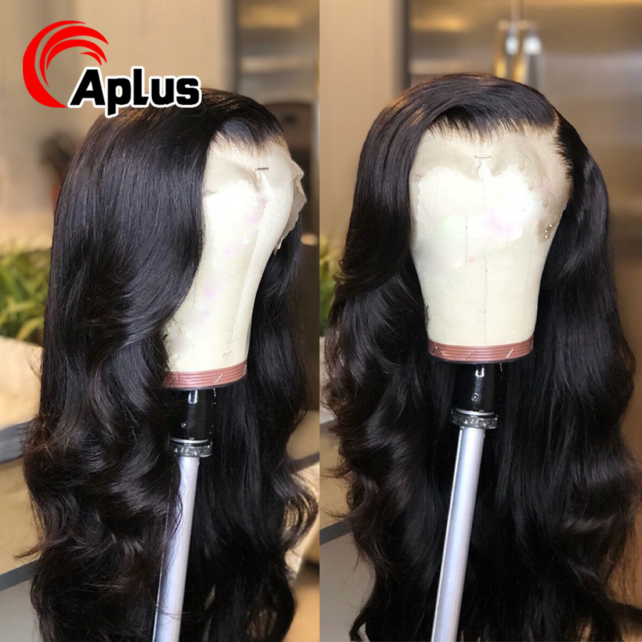 150% Density Body Wave 360 Lace Frontal Wig Brazilian Remy Human Hair Wigs With Baby Hair For Women Pre Plucked Bleached Knots
