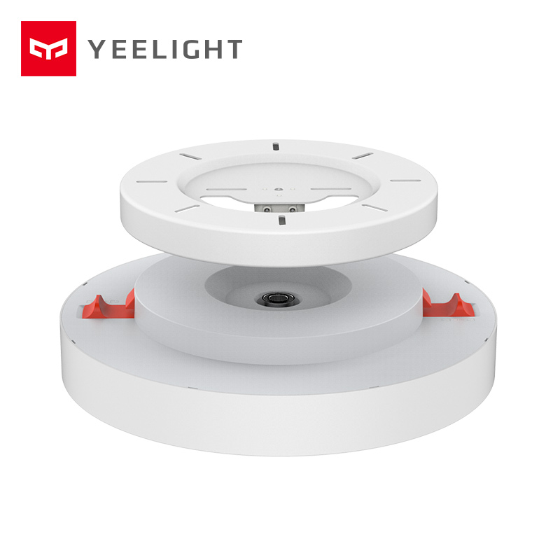 2019 nova original xiao mi yeelight inteligente luz de teto lâmpada controle remoto mi app wifi bluetooth inteligente led cor ip60 dustproof - 3