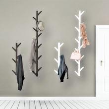 Модная настенная вешалка для пальто в форме бамбукового дерева