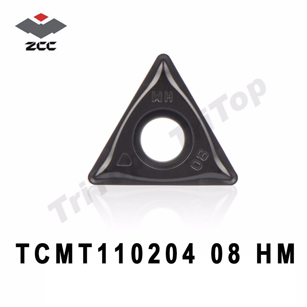 TCMT110204 HM YBD152 <font><b>TCMT</b></font> <font><b>110204</b></font> CNC turning inserts postive carbide plate TCMT110208 semi-finishing and finishing for cast iron image