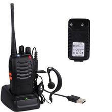 Портативная рация baofeng bf 888s walkie talkie 2pcs professional