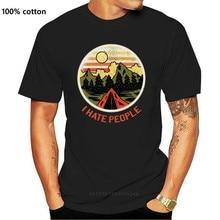 Hate People - Men'S Funny Premium T-Shirt Retro Tee Shirt New Fashion Design For Men Women