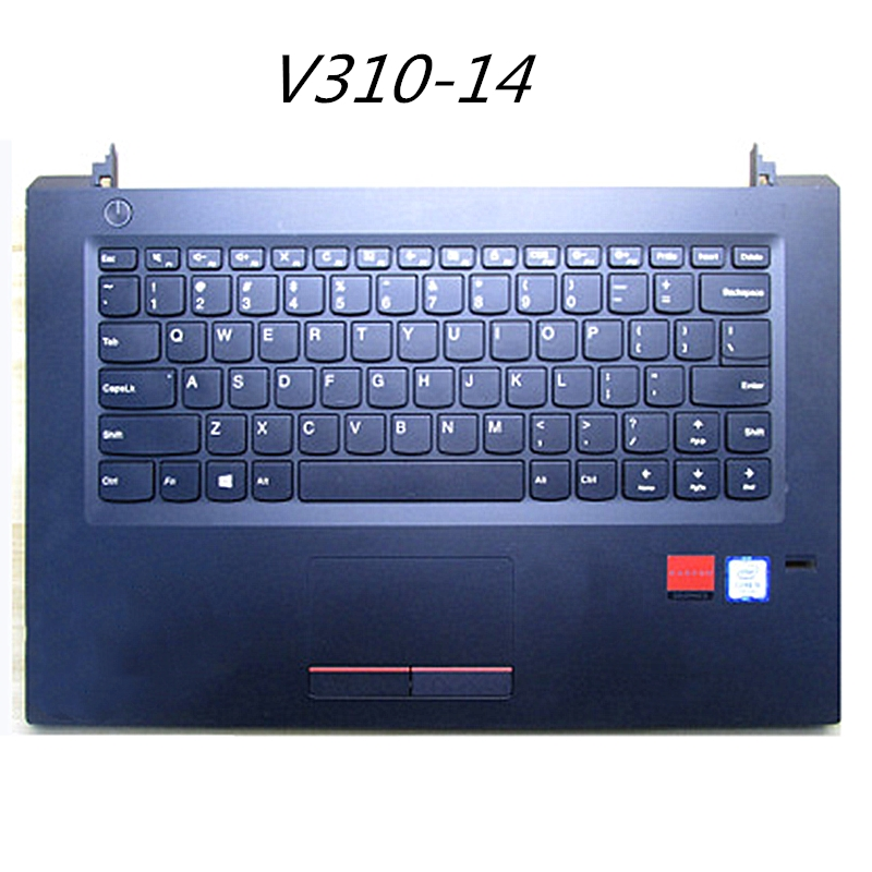 90% New Palmrest with Keyboard Upper Cover For <font><b>Lenovo</b></font> <font><b>V310</b></font>-14 <font><b>V310</b></font>-14ikb isk image