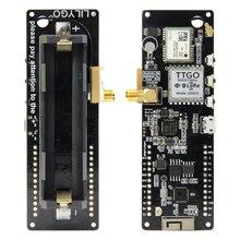 WiFi Drahtlose Bluetooth Modul ESP32 GPS NEO 6M SMA LORA 32 18650 Batterie Halter Mit SoftRF T Strahl V 1,1 ESP 32 433/868/915Mhz