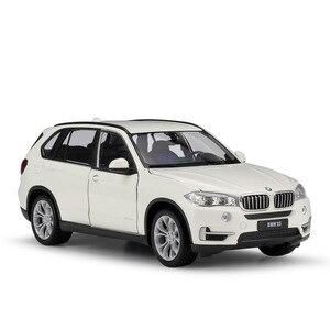Image 5 - WELLY Coche de juguete fundido a presión a escala 1:24, BMW X5, modelo de simulación clásica, SUV, coche de juguete de aleación de Metal para niños, colección de regalos