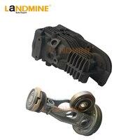 Frete grátis kits de reparo do compressor ar suspensão a ar cabeça do cilindro pistão para mercedes w164 w251 w166 a1663200104