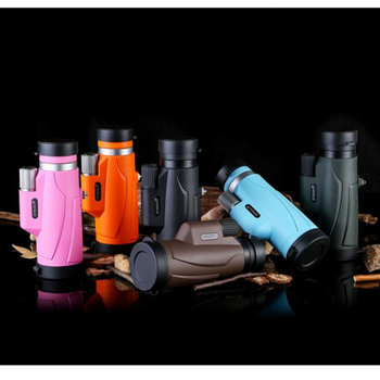 8X42 Portable HD Monocular Telescope Multi-Color Optional Daily Life Waterproof Telescopes Outdoor Hiking, Latest New Design