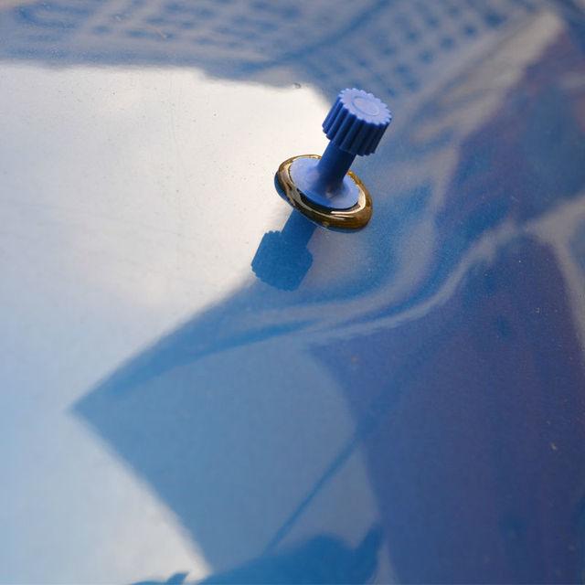 Tools Auto Repair Tool Car Dent Repair Dent Puller Kit 2 in 1 Slide Hammer Reverse Hammer Glue Tabs Suction Cups 4