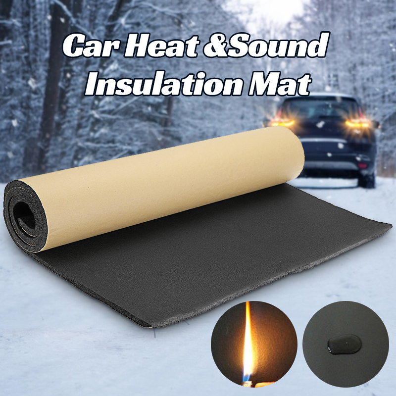 200cmx50cm 5mm-30mm Car Sound Proofing Deadening Car Truck Anti-noise Sound Insulation Cotton Heat Closed Cell Foam