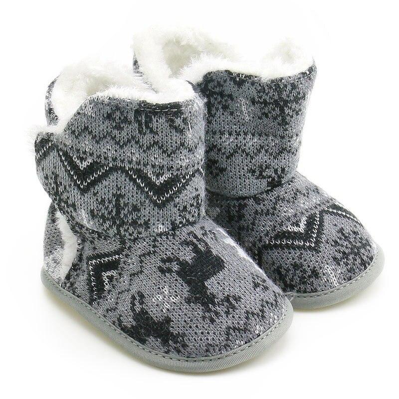 0-18M Infant Toddler Winter Warm First Walke Boy Footwear Newborn Baby Shoes For Prewalker First Walker Baby Girls Shoes 11-13CM