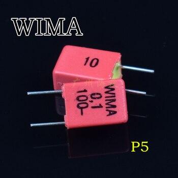 20pcs/lot German original WIMA Polypropylene (PP) MKP2 Series Audio fever stepless coupling capacitor free shipping [zob] german kinmiller jean muller n5013805 63a nh00 777965 genuine original fuse 3pcs lot