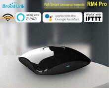 2021 Broadlink RM4 Pro evrensel IR RF akıllı uzaktan 315/433mhz Hub kablosuz Wifi kontrol denetleyicisi uyumlu Alexa google Siri