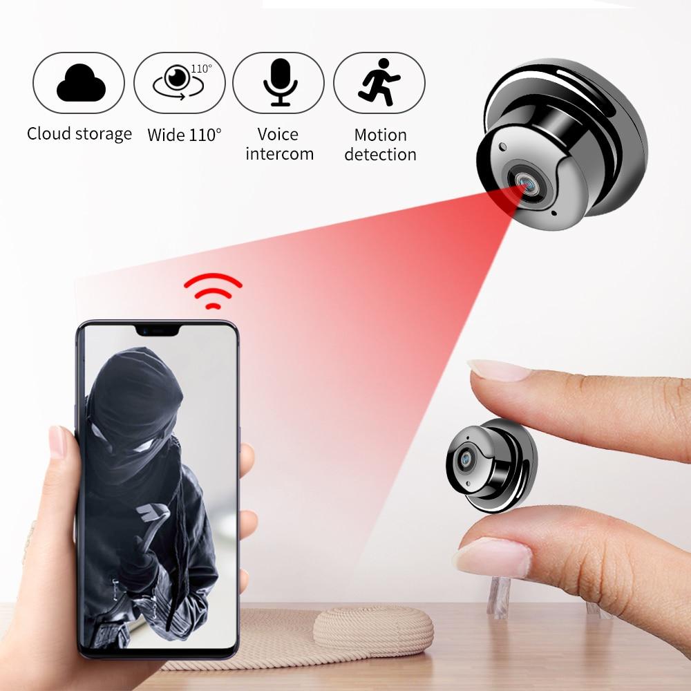1080P Wireless Mini WiFi Camera Home Security Camera IP CCTV Surveillance IR Night Vision Motion Detect Baby Monitor P2P