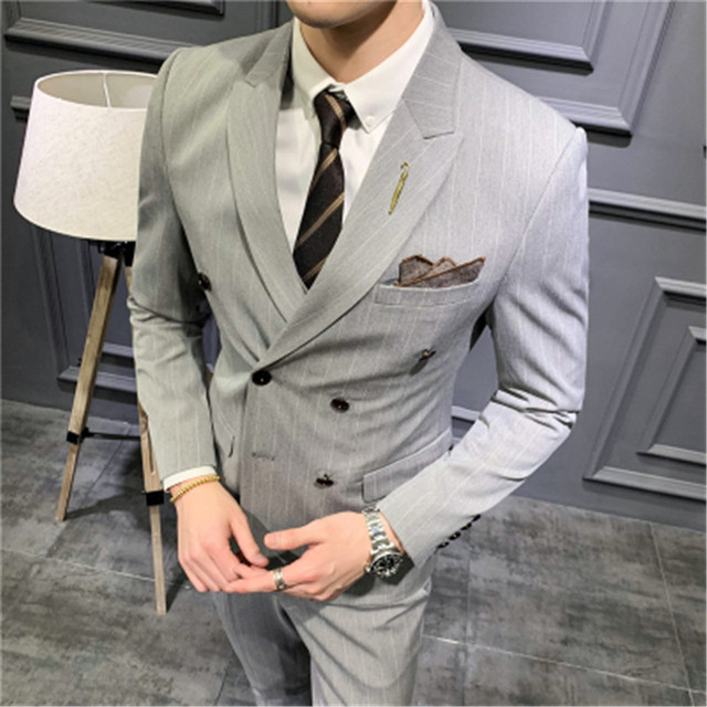 Купить мужские костюмы новинка 2020 двубортные приталенные 5xl takgirm картинки