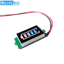 1S 2S 3S 4S 6S Lithium battery pack power indicator board 6/12/24/36 /48V power storage electric vehicle battery power display