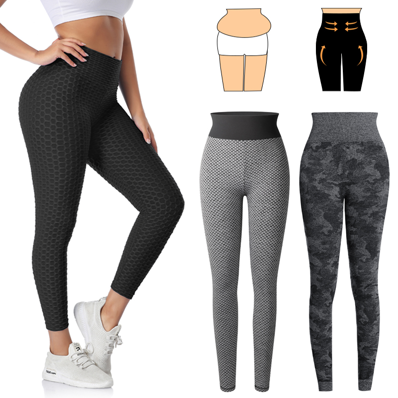 Fitness Leggings Women High Waist Workout Leggins Perfect Fit Gym Jeggings Sexy Seamless Slimming Pants Butt Lifting Panties