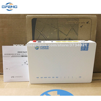 Free Shipping ZTE New Original ZXA10 F663N GPON ONT FTTH GPON ONU with 1GE+3FE Ethernet Port English Firmware