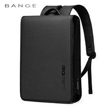 BANGE New Business Backpack Men's Usb Anti-Theft Computer Bag Big Capacity 15.6 Inch Laptop Bagpack Men Elegant Waterproof