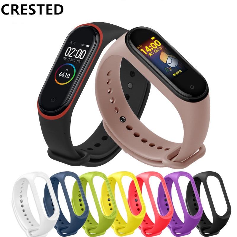 Pulseira Mi Band 4 Strap For Xiaomi Mi Band 3 Bracelet Strap Correa Wristband Reloj Xiaomi Mi Band 3 Kordon WatchBand