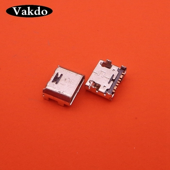 1000pcs Charge Connector for Samsung T110 T111 T113 T115 T116 T560 T561 T580 T585 G360 Galaxy Tab A(7 pin,micro USB type-B)