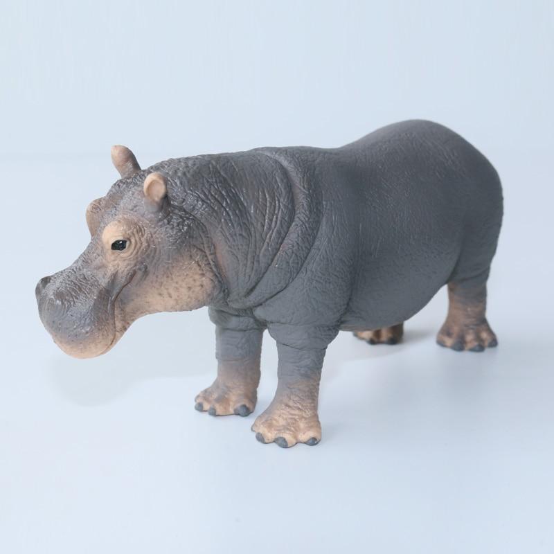GERMANY SCHLEICH WORLD OF NATURE MODEL SH14814 HIPPOPOTAMUS FIGURE