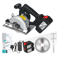 Circular Saw Cordless Battery Bevel-Cutting 30t-Blades 21V with 110mm 6500RPM 45-Degree