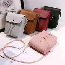 New Ladies Shoulder Bag Leather Crossbody Bags for Women Solid Designer Handbag Clutch Small Bags Female Messengers Flap недорого
