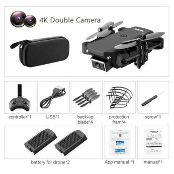 ZITY S66 FPV Mini Drone With Camera HD RC Foldable Drone 4K Professional Wifi Double Camera Drones Quadcopter RC Drone Mini Toys 11