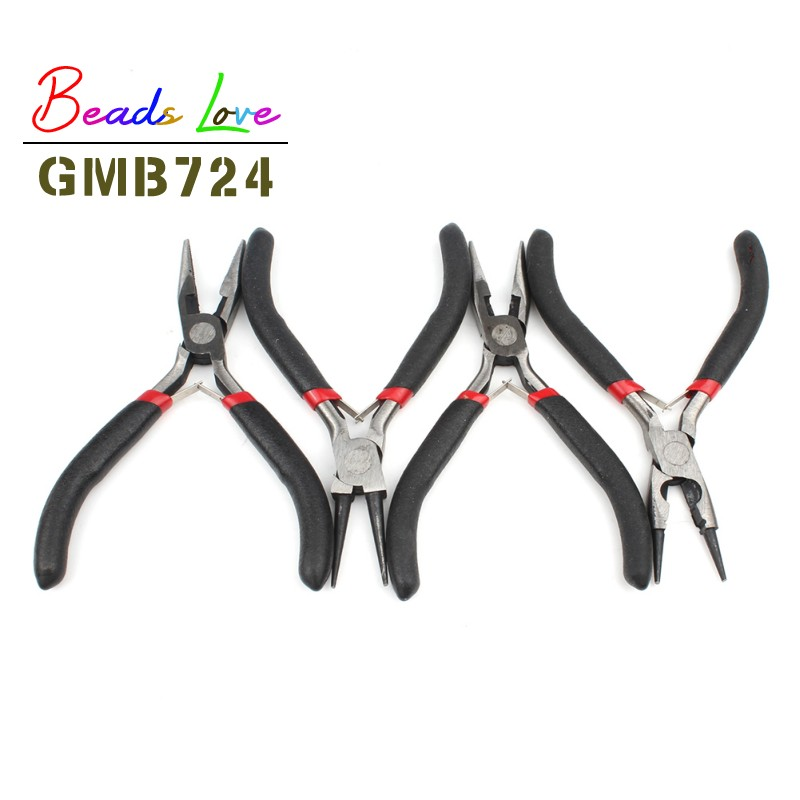 1PC Jewelry Tools & Equipment Pliers Round Nose Cutter Insulated Clamping Tip Pliers For Jewelry Making Diy Handmade Accessories