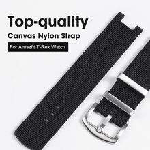 NATO Nylon Watch Strap For Huami Amazfit T Rex Watch Band With Screen Film For Amazfit T Rex Watch Charger