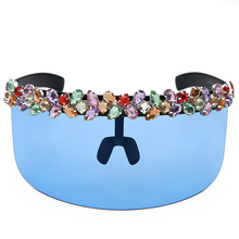 Fashion Oversized Protect Sunglasses Women 2019 Brand Designer Vintage Gradient multicolor For Eyewear UV400
