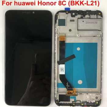 Frame+Original 6.26\'\' LCD For Huawei Honor 8C LCD Display Touch Screen Digitizer Assembly For Honor Paly 8C BKK-AL10 BKK-L21 LCD