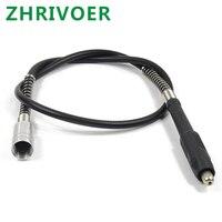 Accesorios de máquina lijadora eléctrica de tallado cable de extensión eje flexible cable de extensión Molinillo Eléctrico eje flexible