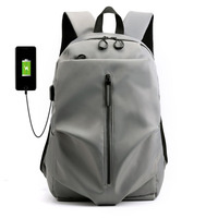 Oxford spinning backpack male USB charging business computer backpack large capacity travel bag