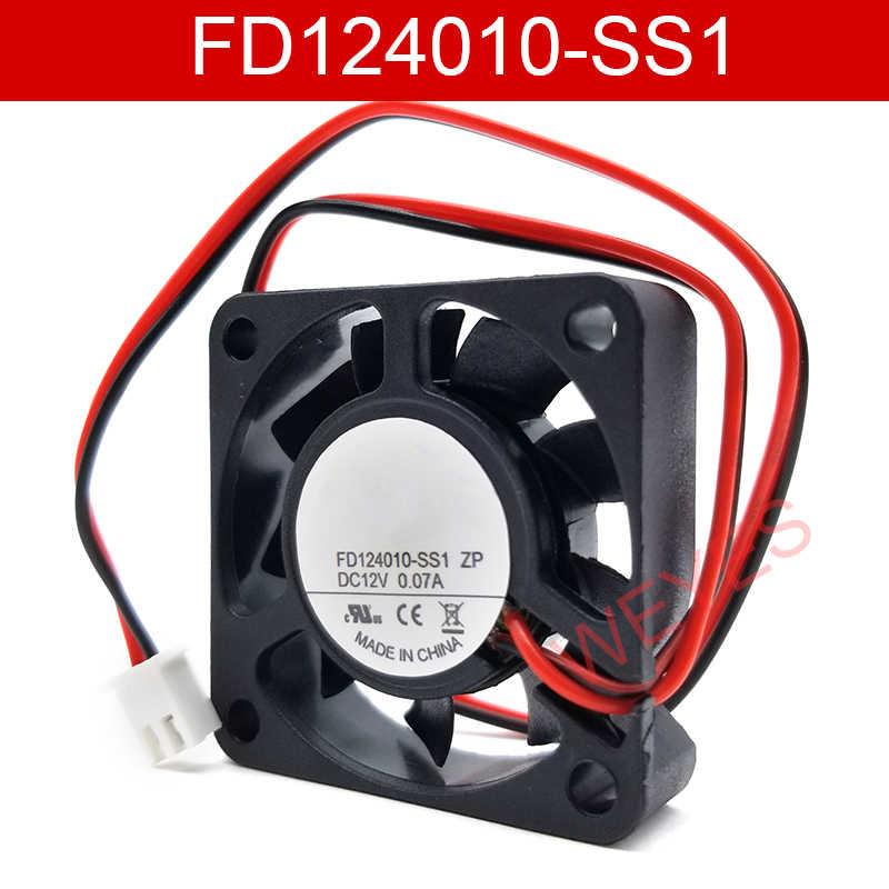 Совершенно новый двухрядный вентилятор для радиатора DOCENG 4010 FD124010-SS1 ZP 12 В постоянного тока 0,07a 40*40*10 мм