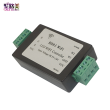 H801 5CH * 4A פלט DC5 24V קלט RGB RGBW LED בקר LED WIFI בקר עבור 5050 2835 3528 SMD led רצועת אור קלטת סרט