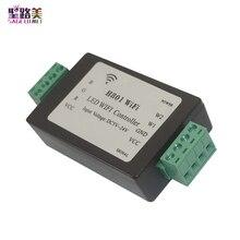 H801 5CH * 4A الناتج DC5 24V المدخلات RGB RGBW LED تحكم LED واي فاي تحكم ل 5050 2835 3528 شريط ليد SMD شريط ضوء الشريط