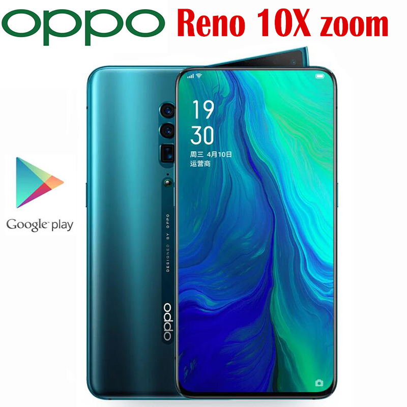 Original Official Oppo Reno 10X Zoom Smart phone Snapdragon 855 Octa Core 6.6inch AMOLED 4065Mah SupperVOOC3.0 NFC 48MP Camera|Cellphones| - AliExpress
