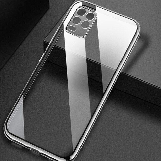 Case For Xiaomi Mi 10T / Mi10T Pro TPU Silicon Clear Bumper Soft Case For Xiaomi Mi 10T Pro Transparent Back Cover Mi 10 Lite 2