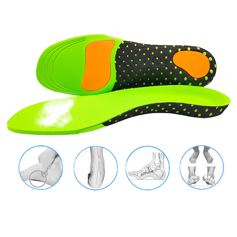 Orthopedic Shoes Sole Insoles For Shoes Arch Foot Pad X/O Type Leg Correction Flat Foot Arch Support Sports Orthotic Inserts