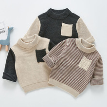 Baby Boys Girls Kids Sweater New 2021 Spring Autumn Boys Girls Long Sleeve Knitted Sweater Boys Girls Sweaters