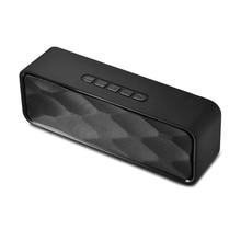 Drahtlose lautsprecher spalte radio computer wireless soundbox für telefon batterie subwoofer pc musik player bluetooth lautsprecher tragbare